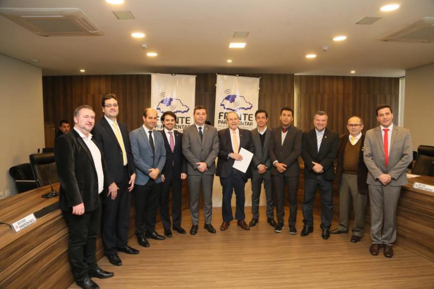 Deputados que integram a Frente Parlamentar em Defesa do Noroeste realizam fórum com o tema Geração de Emprego e Melhoria de Renda.
