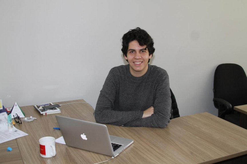 Paolo, orgulhoso de sua nova função