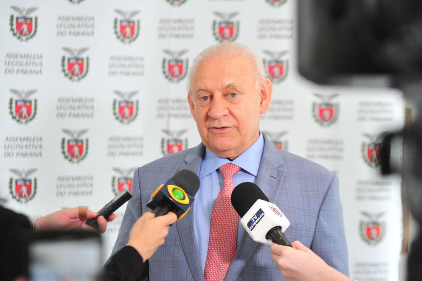 Deputado Ademar Traiano (PSDB), presidente da Assembleia Legislativa do Paraná.