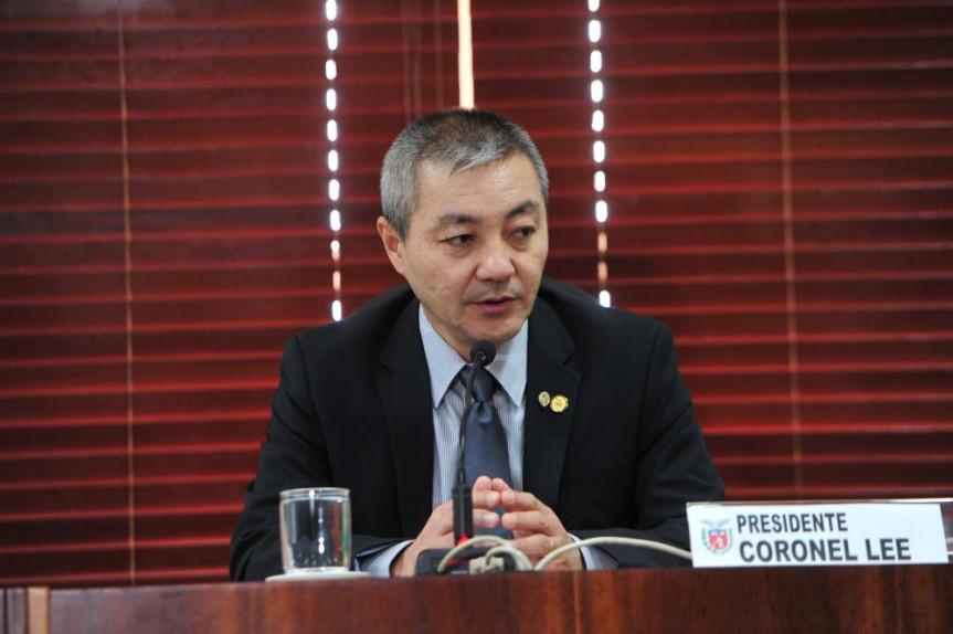 Deputado Coronel Lee (PSL), presidente da Comissão de Segurança Pública.