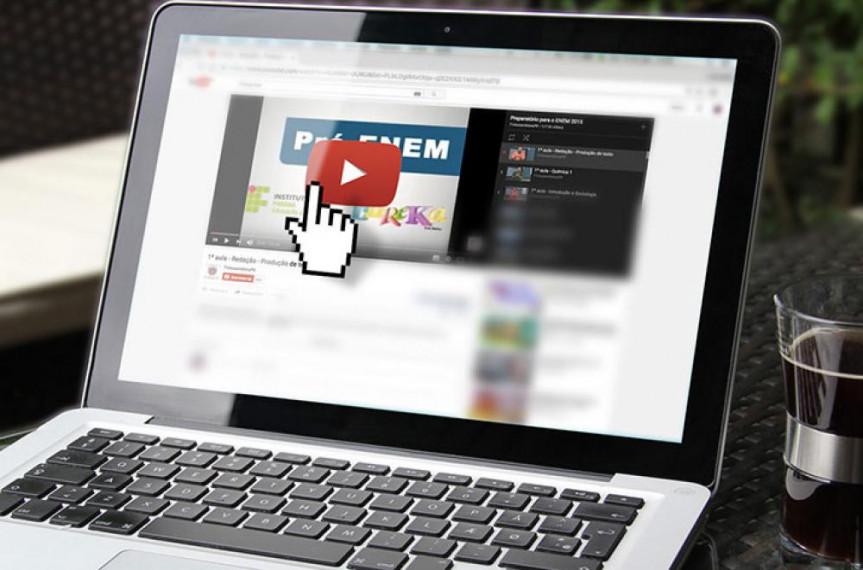 Qualquer estudante pode facilmente acessar as videoaulas pelo site da Alep.