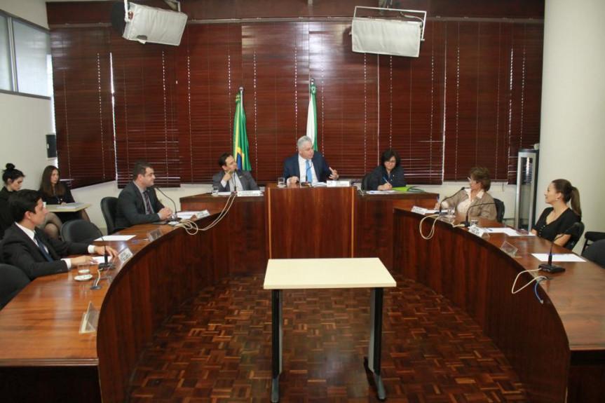 Reunião da Comissão de Esportes da Assembleia Legislativa do Paraná.