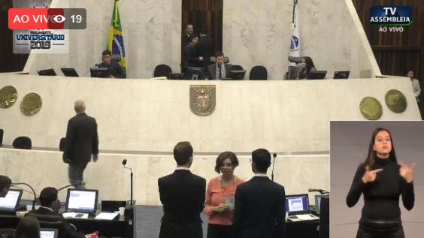 As sessões plenárias da Assembleia Legislativa do Paraná (Alep) passarão a ser traduzidas na Língua Brasileira dos Sinais (Libras), a partir do dia 5 de agosto.