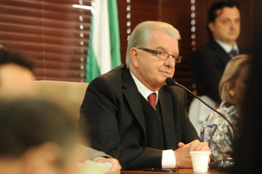 Deputado Nelson Justus (DEM), presidente da CCJ.