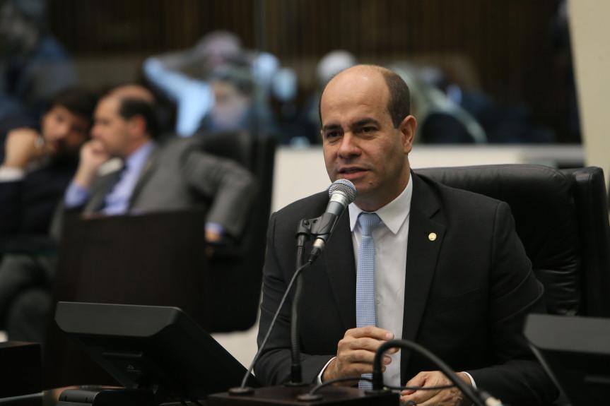 Deputado Evandro Araújo (PSC), presidente da Comissão de Orçamento.