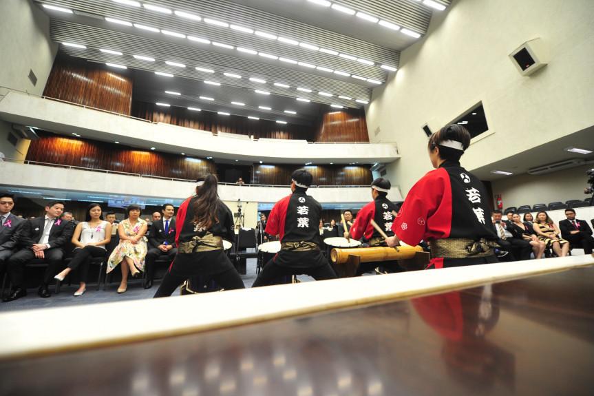 Sessão Solene em Homenagem a Câmara do Comércio e Indústria Brasil-Japão.