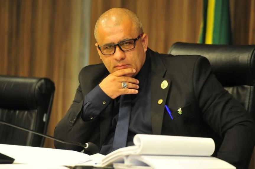 Deputado Soldado Fruet (PROS), presidente da CPI da JMK.