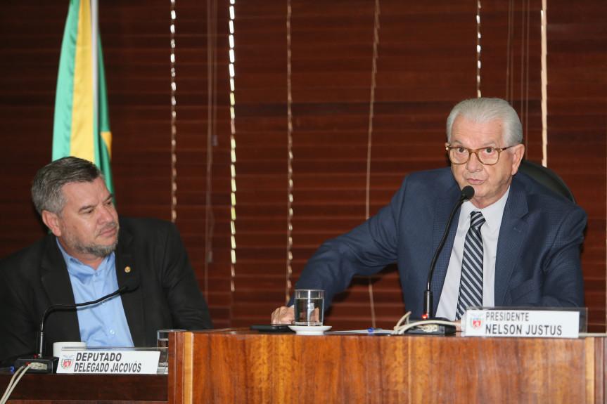Deputado Nelson Justus (DEM), presidente da Comissão de Finanças e Tributação.