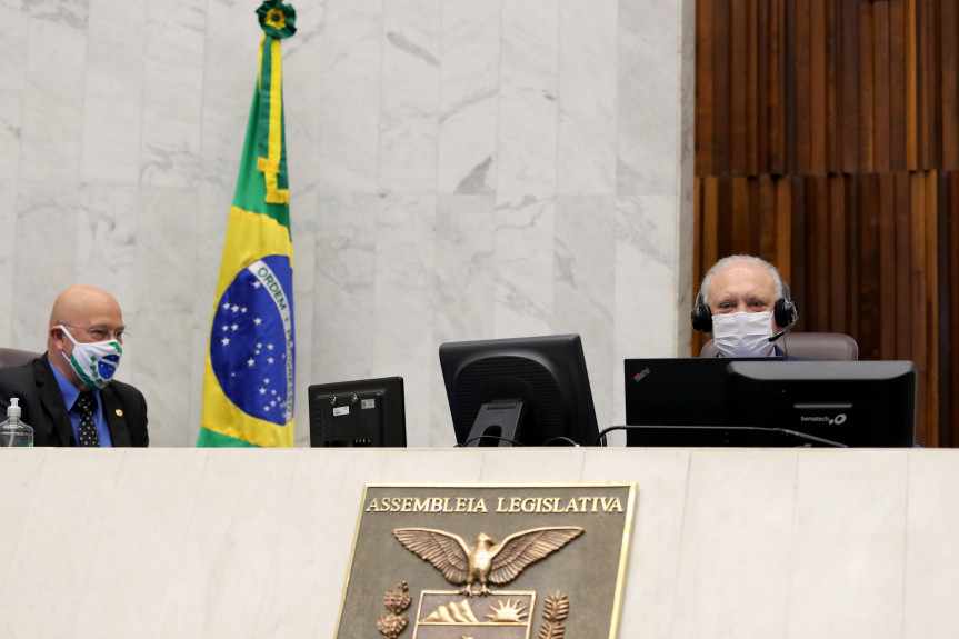 Parceria entre Assembleia Legislativa e Governo do Paraná para o repasse de recursos para a compra de vacina contra a Covid-19 será formalizada na próxima segunda-feira, dia 3 de agosto, às 10h, em uma videoconferência.