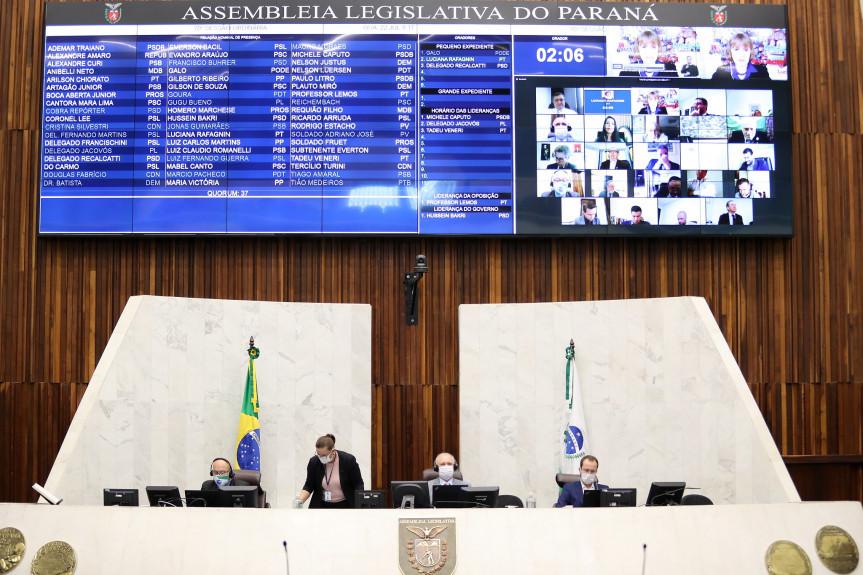 Na sessão plenária desta quarta-feira (22) os deputados aprovaram projeto de lei que permite o parcelamento do IPVA 2020.