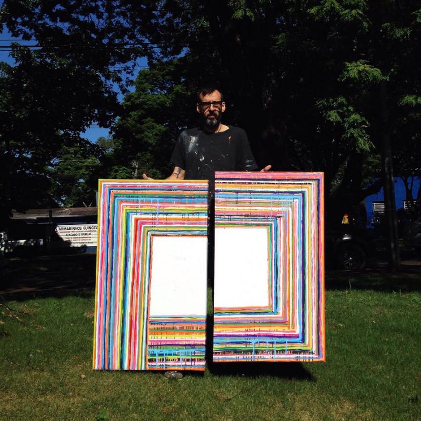 O artista plástico maringaense Paolo Ridolfi vai receber o título de Cidadão Benemérito do Paraná.