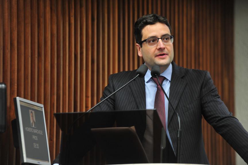 Deputado Homero Marchese (PROS), proponente do evento.