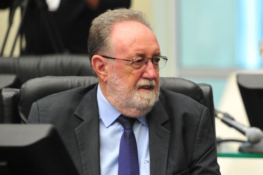 Deputado Tercílio Turini (PPS) autor do projeto que insere no Roteiro Oficial de Turismo Religioso do Estado o Santuário Nossa Senhora Aparecida.