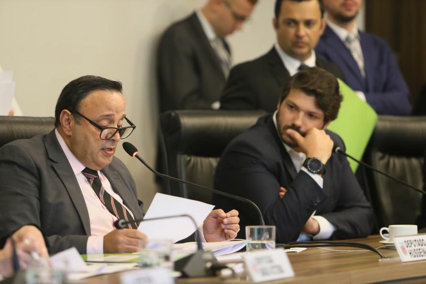 Deputado Hussein bakri (PSD), líder do Governo na Alep e relator das matérias que envolvem a reforma da previdência dos servidores estaduais.