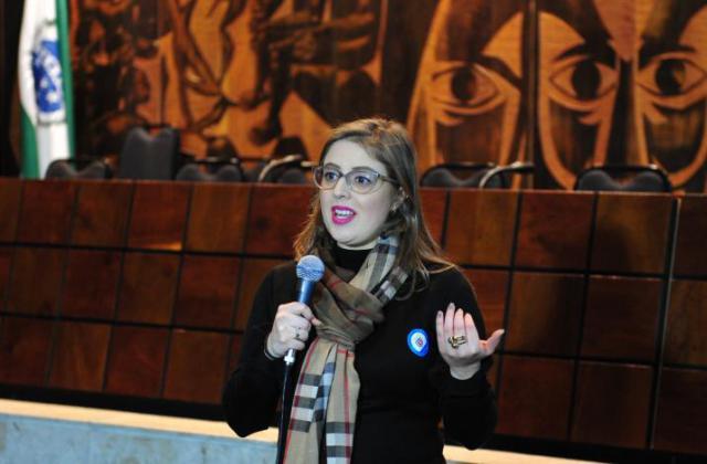 Carol Cléve, advogada. / Foto: Sandro Nascimento/Alep