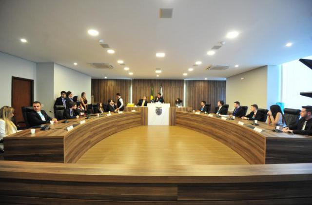 CCJ do Parlamento Universitário faz sua primeira reunião. / Foto: Sandro Nascimento/ALEP