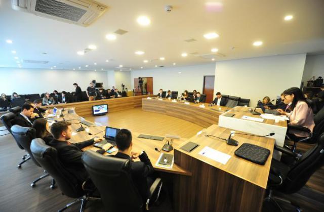 Reunião da CCJ do Parlamento Universitário.  / Foto: Pedro de Oliveira/ALEP