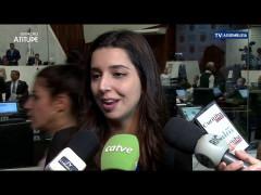 Estudante Mariana Silvério, vence o Geração 2019