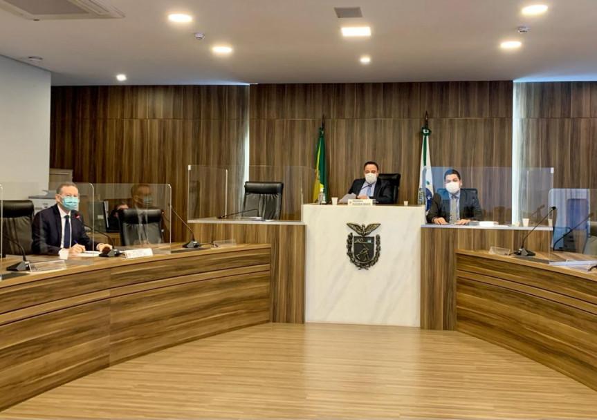 Reunião da Comissão de Educação da Assembleia Legislativa do Paraná.