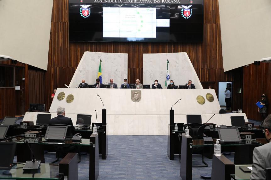 Audiência pública realizada no plenário da Assembleia debateu a nova modelagem para concessão rodoviária.