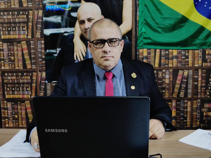 Deputado Soldado Fruet (PROS), presidente da Comissão de Turismo da Assembleia.