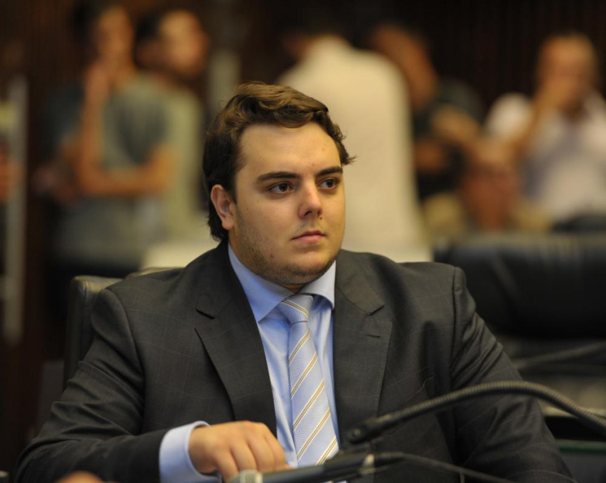 Deputado Felipe Francischini (SD).