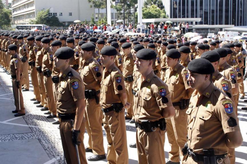 Sessão Solene marcará os 165 anos da Polícia Militar do Paraná.
