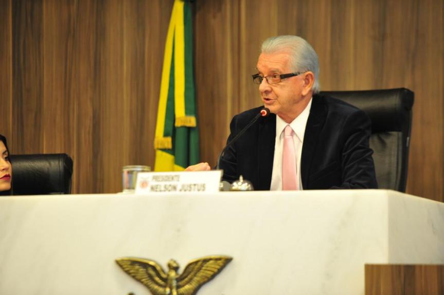 Deputado Nelson Justus, presidente da Comissão de Finanças e Tributação