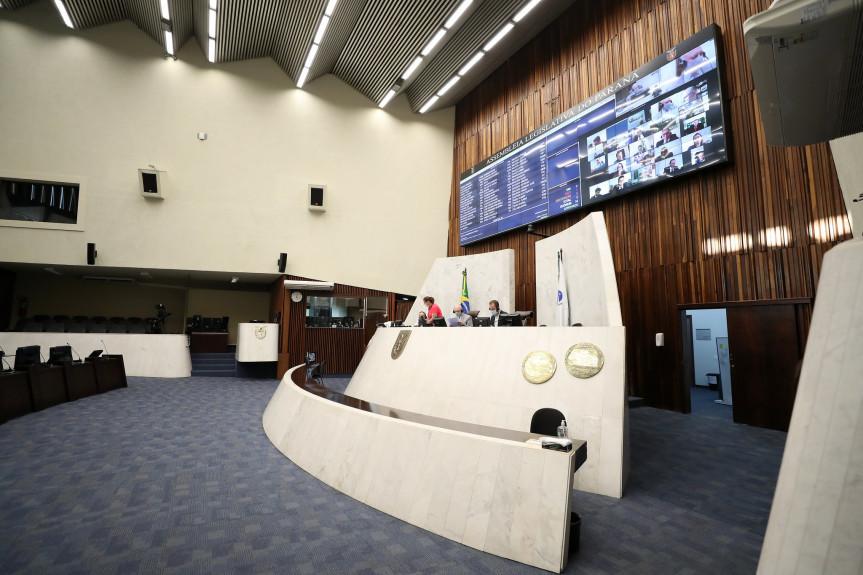 Na sessão plenária desta quarta-feira (12) os deputados aprovaram o estado de calamidade para as cidades de Doutor Camargo e Ipiranga.