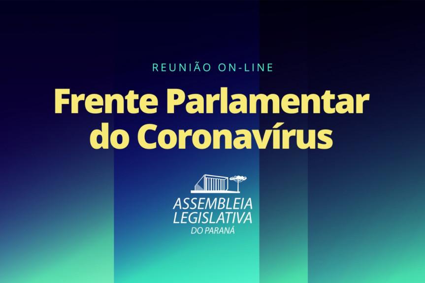 Deputados que integram a Frente Parlamentar do Coronavírus se reúnem nesta quinta-feira (10).