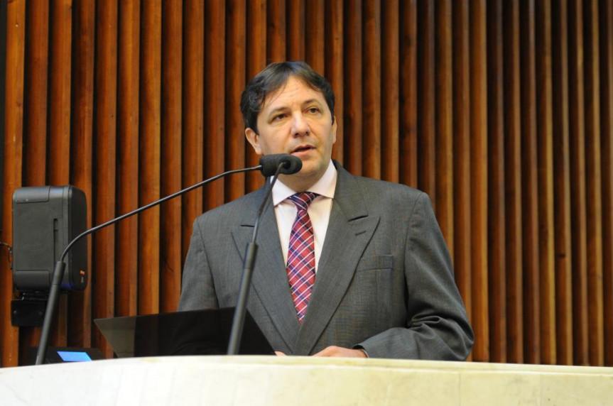 Deputado Chico Brasileiro (PSD), eleito prefeito de Foz do Iguaçu.