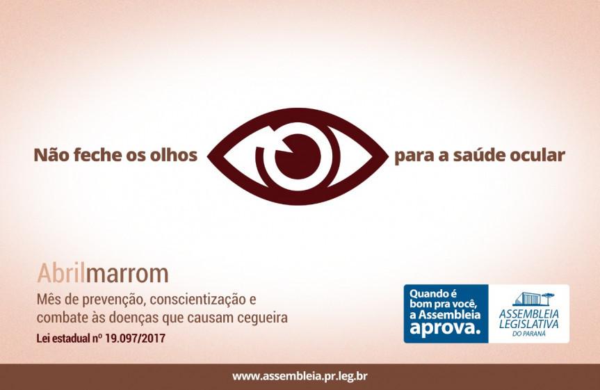 Abril é o mês de cuidar da visão e evitar a cegueira