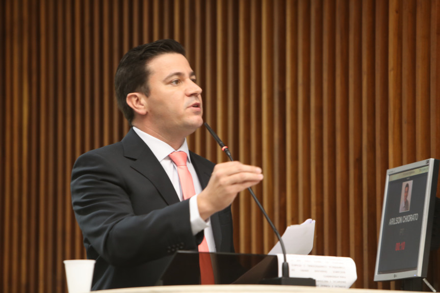Deputado Arilson Chiorato (PT).