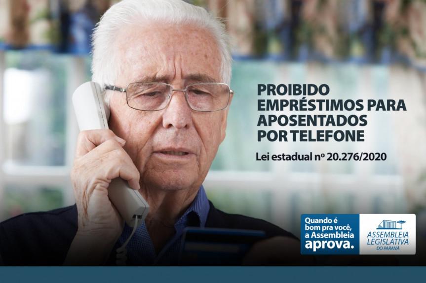 STF garante a vigência da lei que proíbe oferta por telefone de empréstimo consignado para aposentados.