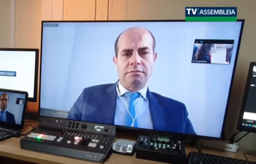 Deputado Evandro Araújo (PSC), vice-coordenador da Frente Parlamentar sobre o Pedágio.