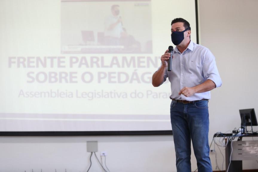 Deputado Arilson Chiorato (PT), coordenador da Frente Parlamentar sobre o novo modelo de pedágios no Paraná.