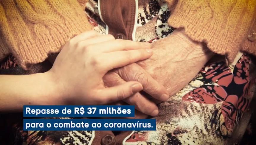 Campanha destaca as ações realizadas pela Assembleia Legislativa do Paraná para ajudar no combate ao coronavírus.