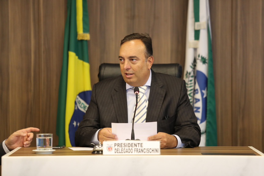 Deputado Delegado Francischini (PSL).