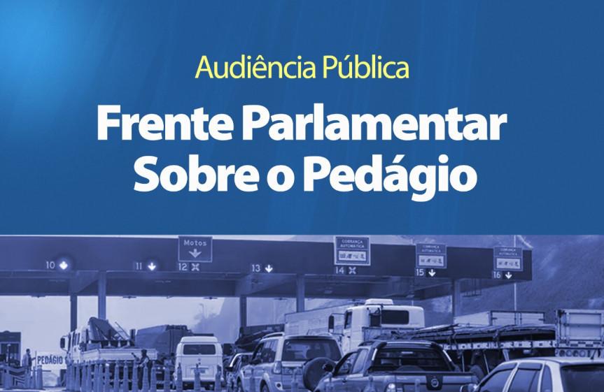 Audiências públicas promovidas pela Frente Parlamentar sobre o Pedágio da Assembleia Legislativa do Paraná acontecem nesta semana em Maringá e Apucarana.
