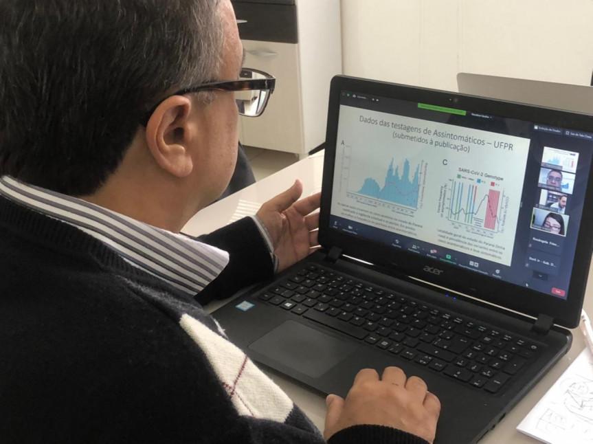 Aumentar o número de testes realizados para detectar a Covid-19 foi o tema da reunião da Frente Parlamentar do Coronavírus.