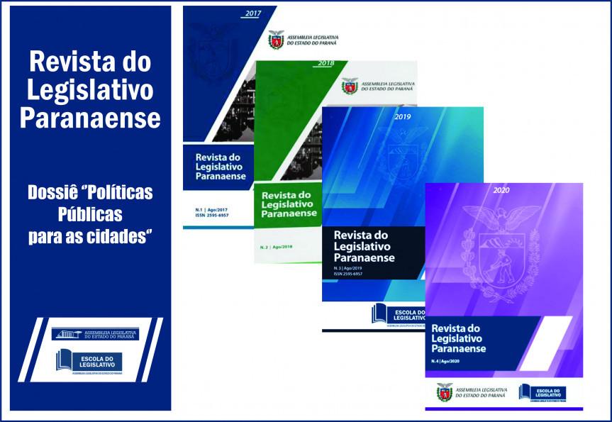 Edição 2020 da Revista do Legislativo.