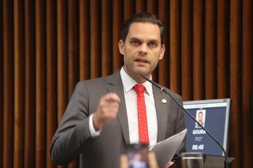 Deputado Goura (PDT).