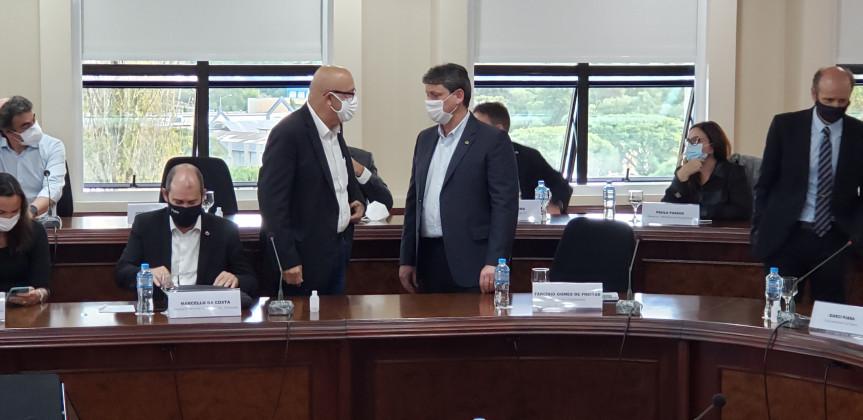 Reunião com o G7 debateu o modelo de pedágio no Paraná