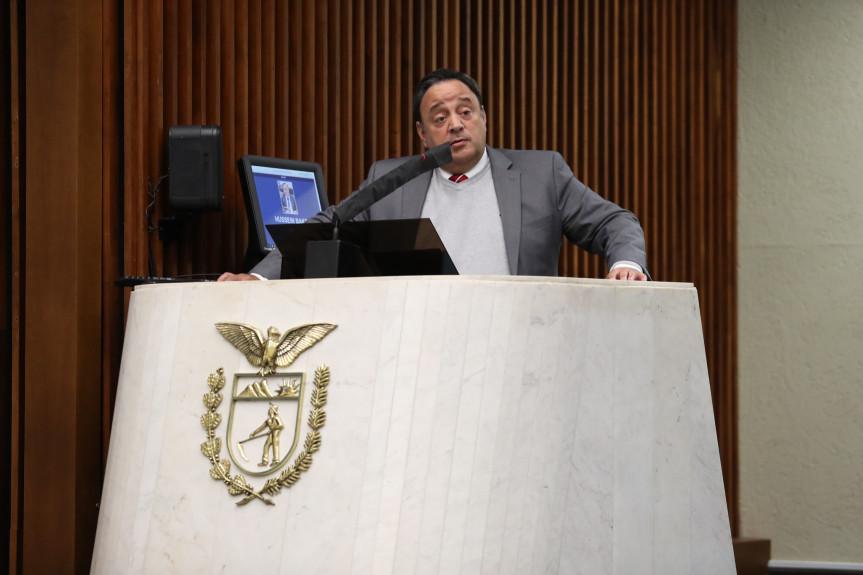 Deputado Hussein Bakri (PSD), líder do Governo na Assembleia Legislativa do Paraná.