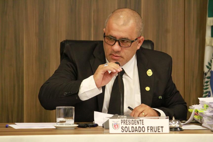 Deputado Soldado Fruet, presidente da Comissão de Turismo da Assembleia Legislativa do Paraná.