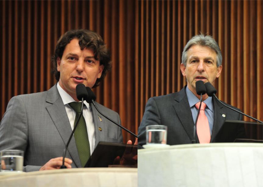 Deputados Anibelli Neto (MDB) e Tadeu Veneri (PT) são, respectivamente, o presidente e relator da Comissão Especial.