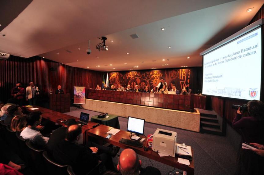 Audiência pública debateu o Plano Estadual de Cultura e do Fundo Estadual de Cultura.