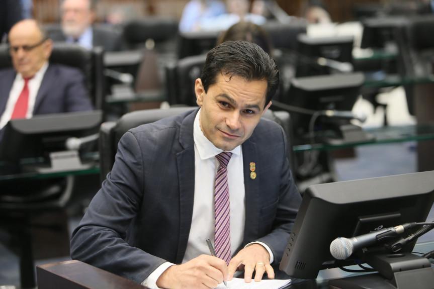 Deputado Marcio Pacheco (PDT), presidente da Comissão de Defesa do Consumidor da Assembleia Legislativa do Paraná.