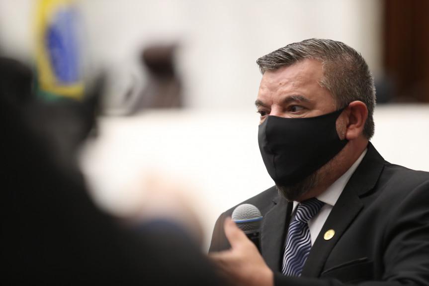 Deputado Delegado Jacovós (PL).
