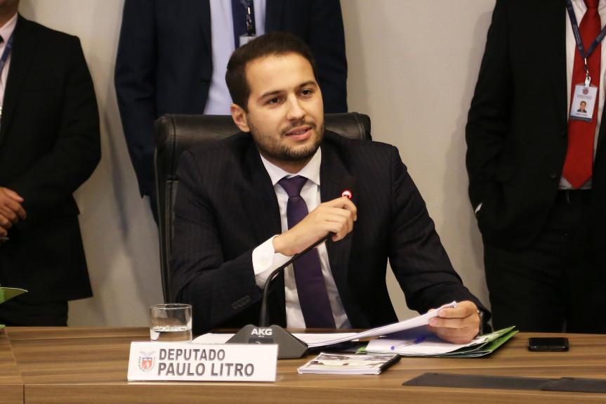 Deputado Paulo Litro (PSDB).